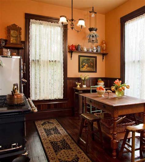 victorian kitchen curtains selecting curtains for your period kitchen old house