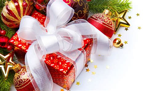 the festive christmas gifts photography wallpaper 7