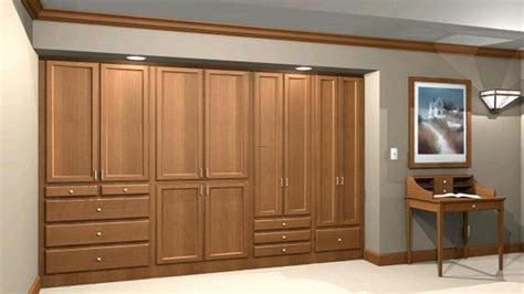 Built In Wall Closets by Wall Closet Design Ideas Wardrobe Wall Closet Design Wall