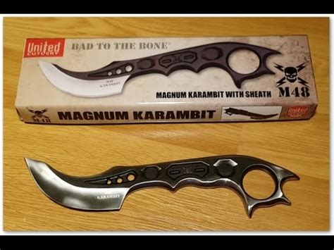 m48 karambit united cutlery m48 magnum karambit review modification