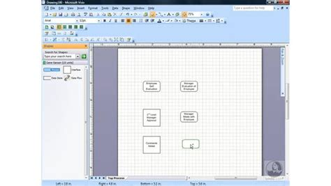 data flow model diagram template visio goodvidu