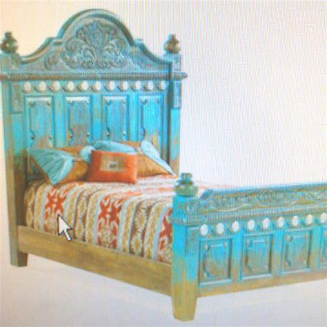 Turquoise Bed Frame Vintage Turquoise Bed Frame Design Ideas Pinterest
