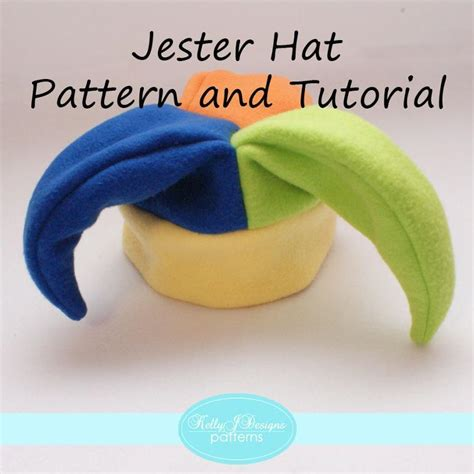 jester mask template jester hat pattern and tutorial patterns tutorials and