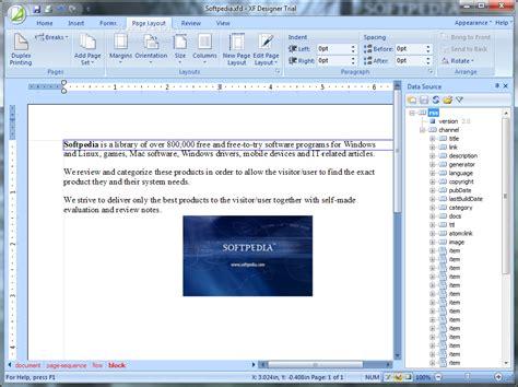 xsl layout editor xf designer 2010 download
