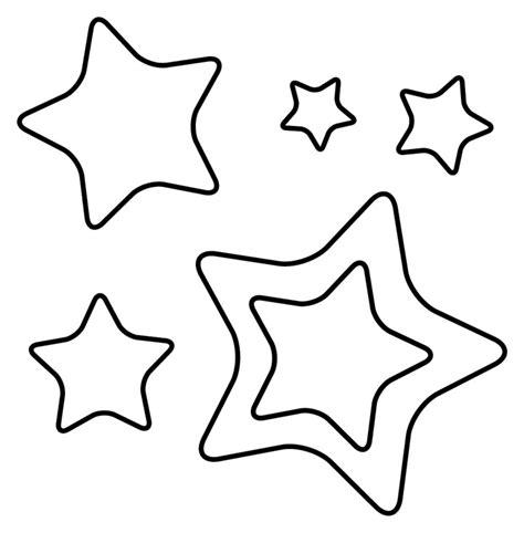 imagenes chidas que se puedan dibujar conjunto de estrellas para colorear imagui