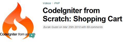 codeigniter tutorial scratch 5 tutorials on how to create cms with codeigniter from