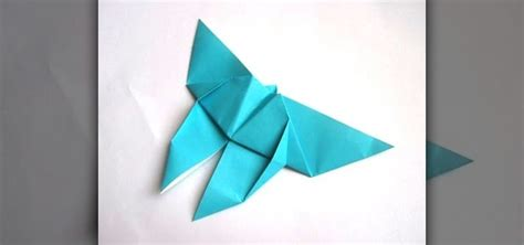 Easy Butterfly Origami - how to origami a simple butterfly for beginners 171 origami