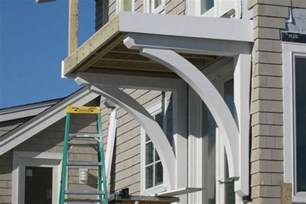 Structural Corbels Building Structural Brackets For A Balcony Deck Jlc