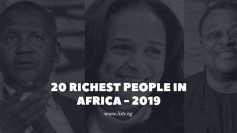 20 richest in africa lists ng