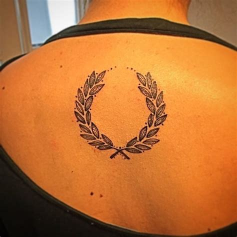 laurel wreath tattoo 50 beautiful laurel wreath designs and meanings