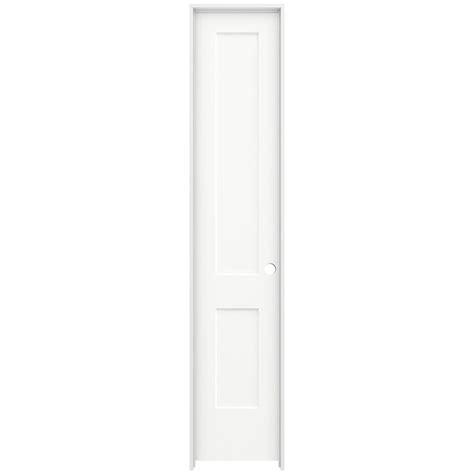 20 X 80 Interior Door Krosswood Doors 18 In X 96 In Craftsman Shaker Primed Mdf 2 Panel Right Single Prehung
