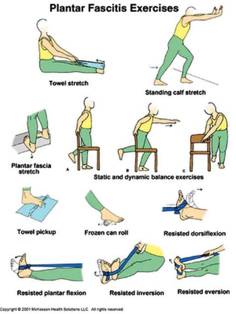Planter Fasciitis Exercises plantar fasciitis exercises f 246 r kropp o sj 228 l