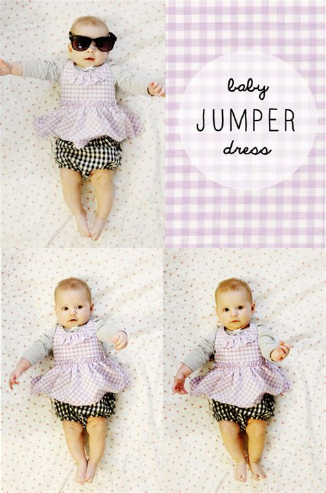 free pattern newborn dress gingham style free baby jumper dress pattern with a