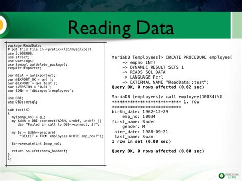 perl format date for mysql using perl stored procedures for mariadb