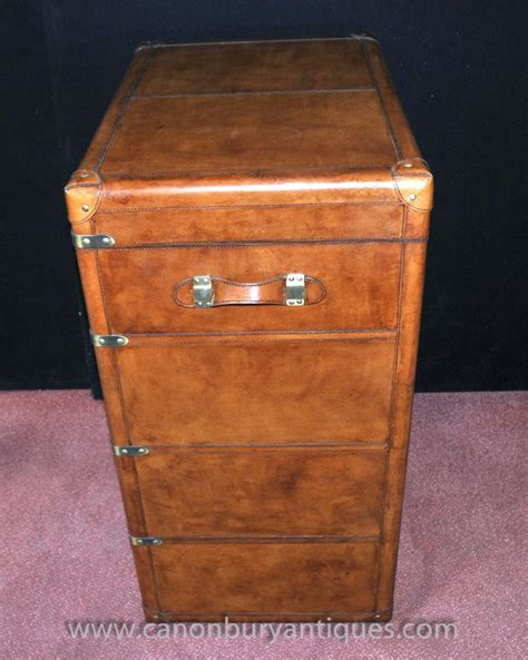 Steamer Trunk With Drawers by Steamer Trunk Luggage Chest Drawers Caign Furniture