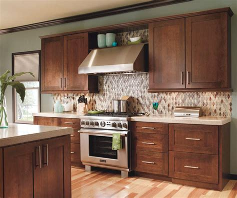 Modern Cherry Kitchen Cabinets contemporary cherry kitchen cabinets by decora cabinetry