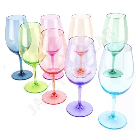 feuerkorb hoch acrylic wine glasses flamefield acrylic wine glasses