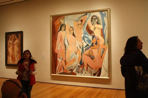 picasso paintings in moma les demoiselles d avignon picasso picture of the
