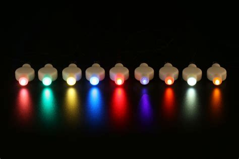 single mini led lights battery operated mini led disposable accent light for