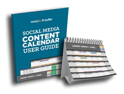 hubspot social media template the social media content calendar manage your updates