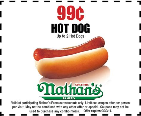 nathans dogs nathan s 99 printable coupon