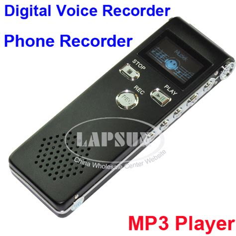 Digital Voice Recorder With Mp3 Player 4gb 4gb digital voice recorder pen telephone audio