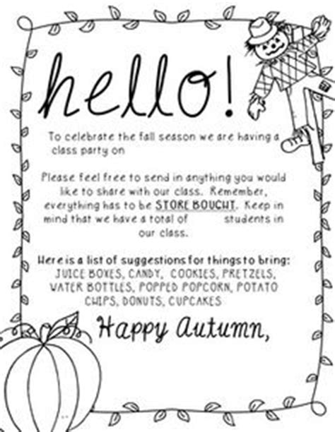 Character Parade Letter To Parents You Can See Everything Included In The Preview This Product Includes All The Printable