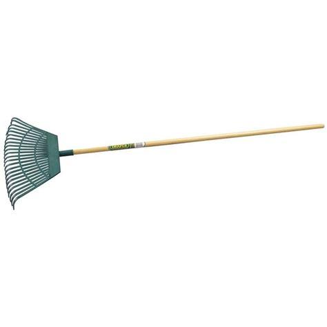 draper plastic leaf rake garden street