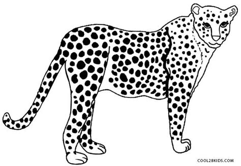 cheetah head coloring page free coloring pages of cheetah head