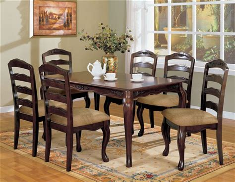 Dining Tables Townsville Townsville Contemporary Walnut 60 Inch Dining Table Set Shop For Affordable Home