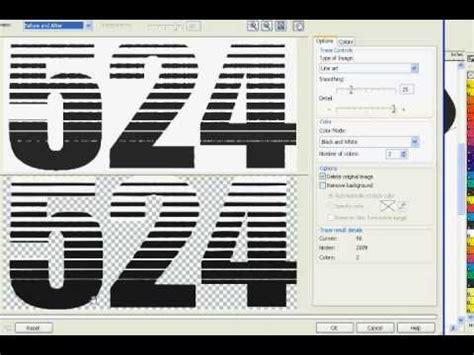 linear pattern coreldraw coreldraw x3 text effect linear halftone youtube