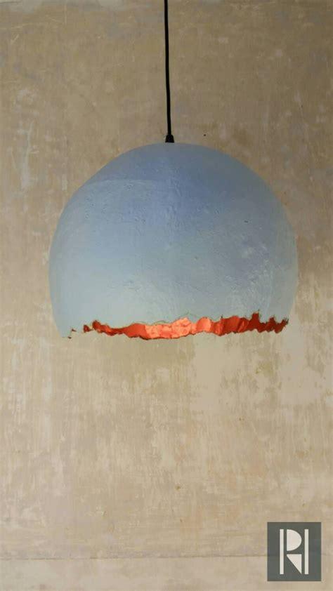 paper mache hanging lights macrame lichte schaduw paper mache pendant ls and