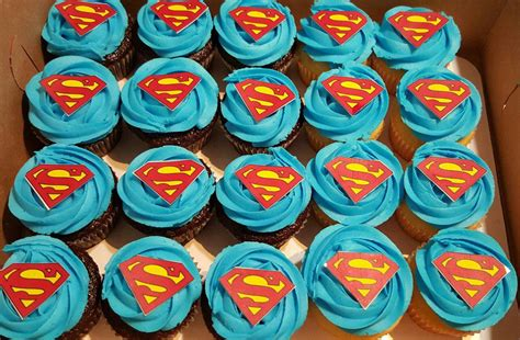 Custom Cakes And Cupcakes by Superman Custom Cupcakes Custom Created Cakes By Brandi