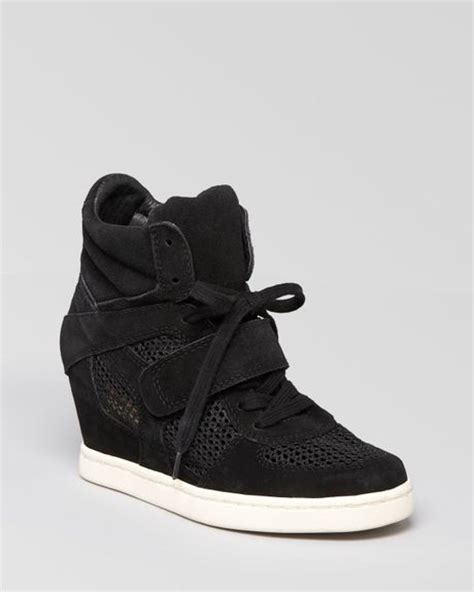 lace up wedge sneakers ash lace up wedge sneakers cool in black lyst