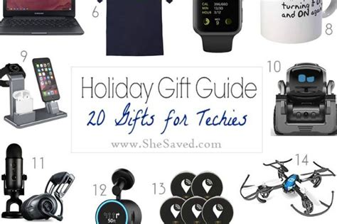 holiday gift guide gifts for techies shesaved 174