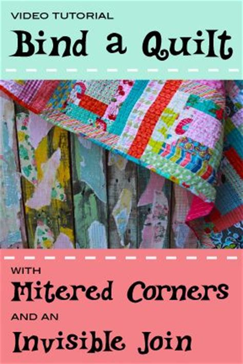 How To Bind A Quilt Corner by 1000 Ideas About Mitered Corners On Quilt