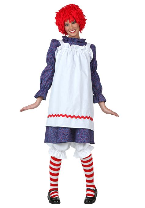 halloween costumes adult rag doll costume