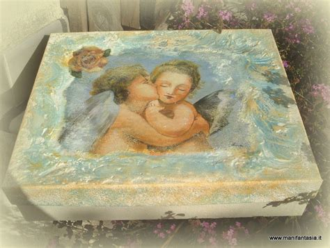 tutorial per decoupage tutorial decoupage riciclo creativo finto affresco su