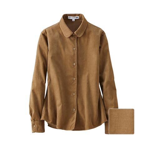 Corduroy Sleeve Shirt idlf corduroy sleeve shirt uniqlo