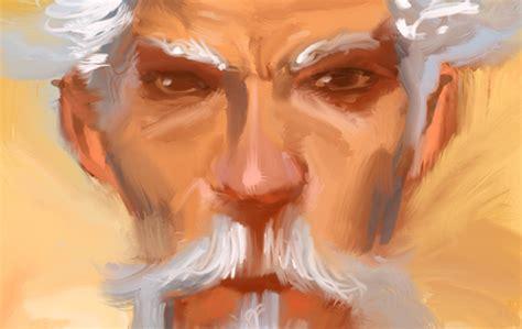 tutorial photoshop oil painting effect tutorials digital art tutorials