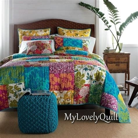 the bedding company the company store hand quilted patchwork bedspread quilt
