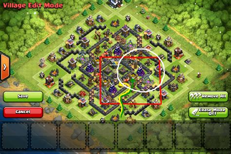 layout coc th9 anti giant th9 labyrinth quot mirage quot an anti giant barch th9 gold de