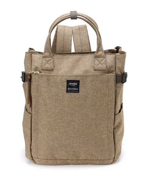 Anello Camello Shopping Tote Cancas Vl90695 10 pocket 2 way backpack products anello 174 official site