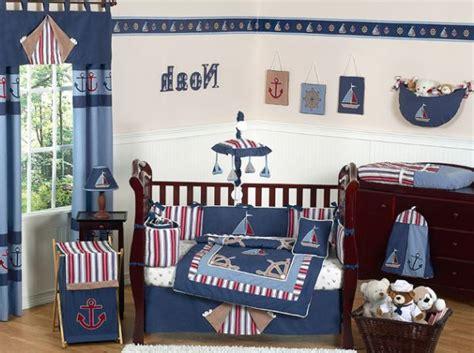 Nautical Themed Boys Room - little boy nautical bedroom decor for boys room bedding