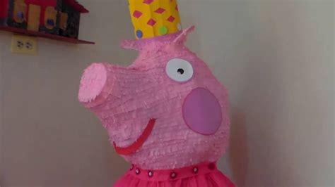 hacer con globos la pepa pi 241 ata de peppa pig decoracion 4 de 4