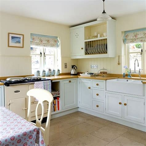 cream country kitchen ideas classic pale blue and cream country kitchen kitchen