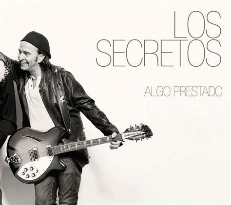 los secretos algo prestado la portada disco