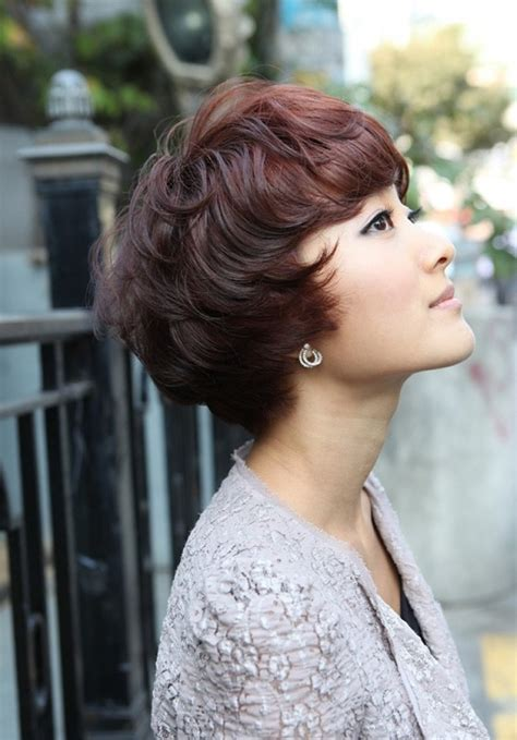 korean perm hairstyle 1000 images about female short perm on pinterest korean