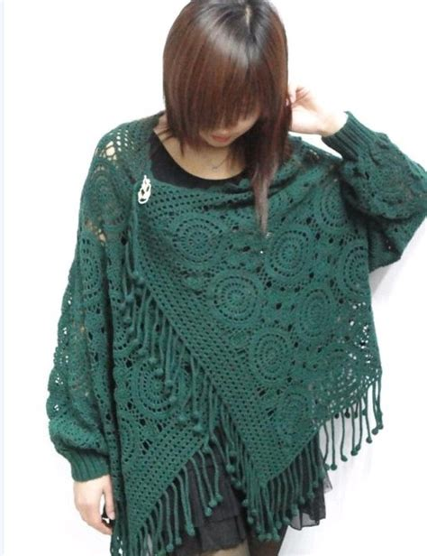 Handmade Sweater Patterns - an interesting model of sweaters free crochet patterns