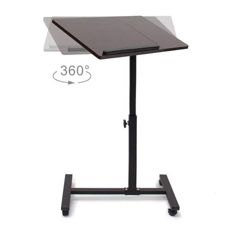 Adjustable Swivel Laptop Desk Best Mobile Laptop Stands For Presentation In Schools Colour My Learning